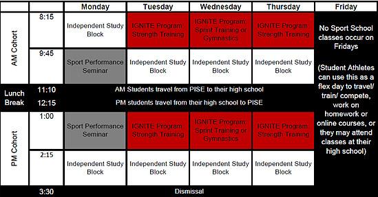 CSS Victoria Timetable